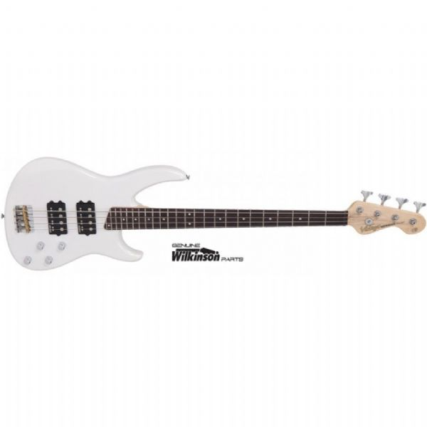 Vintage Bass Guitar V90PW Pearl White – 4 string - New
